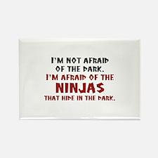 I'm Not Afraid Of The Dark Rectangle Magnet