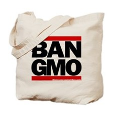 Ban-Gmo Black-Red Tote Bag