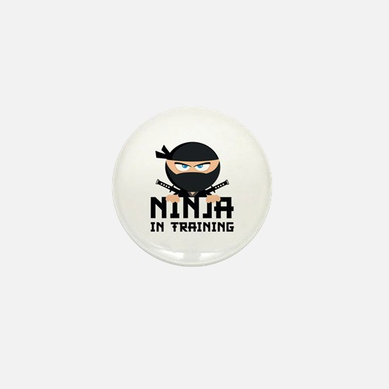 Ninja In Training Mini Button (10 pack)