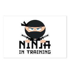 Ninja In Training Postcards (Package of 8)
