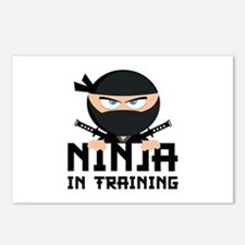 Ninja In Training Postcards (Package of 8)