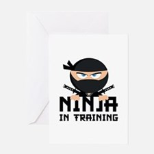 Ninja In Training Greeting Card