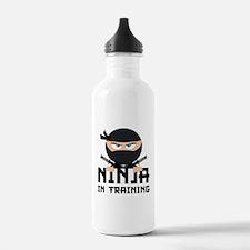 Ninja In Training Water Bottle