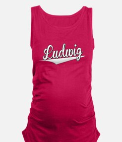 Ludwig, Retro, Maternity Tank Top