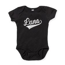 Luna, Retro, Baby Bodysuit