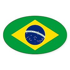 Brazil Flag Stickers