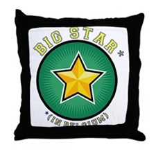 Big Star... Throw Pillow