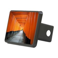 red torii gates kyoto Hitch Cover