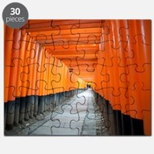 red torii gates kyoto Puzzle
