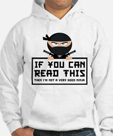 If You Can Read This Hoodie Sweatshirt