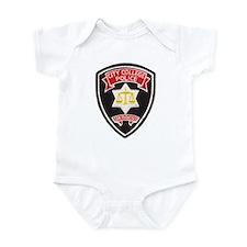 SF City College Police Infant Bodysuit