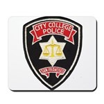 SF City College Police Mousepad