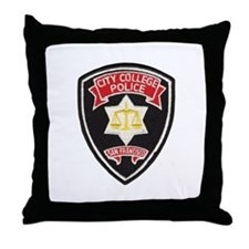 SF City College Police Throw Pillow