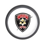 SF City College Police Wall Clock