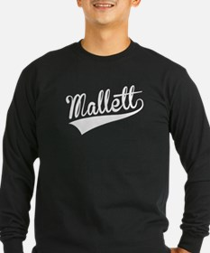 Mallett, Retro, Long Sleeve T-Shirt