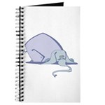Droopy Pastel Elephant Journal