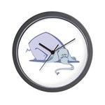 Droopy Pastel Elephant Wall Clock