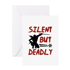 Silent But Deadly Greeting Card