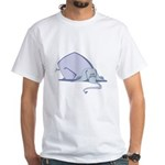 Droopy Pastel Elephant White T-Shirt