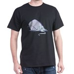 Droopy Pastel Elephant Dark T-Shirt