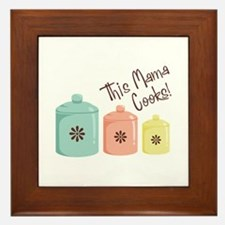 This Mama Cooks! Framed Tile