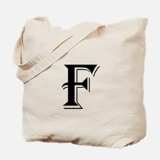 Fancy Letter F Tote Bag