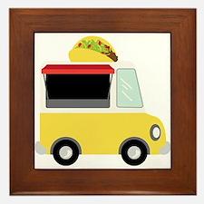 Taco Truck Framed Tile