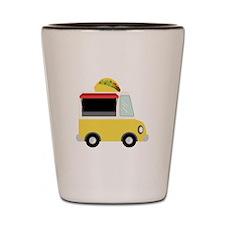 Taco Truck Shot Glass