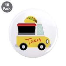 """Tacos 3.5"""" Button (10 pack)"""