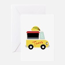 Tacos Greeting Cards