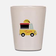 Tacos Shot Glass