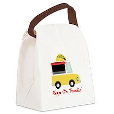 Keep On Truckin Canvas Lunch Bag