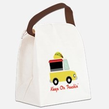 Keep On Truckin Canvas Lunch Bag