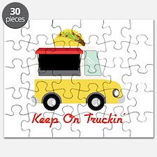 Keep On Truckin Puzzle