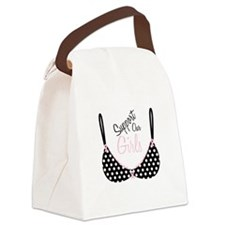 Support Our Girls Canvas Lunch Bag
