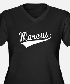 Marcus, Retro, Plus Size T-Shirt