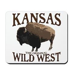Kansas Buffalo Mousepad
