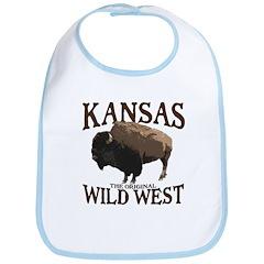 Kansas Buffalo Bib
