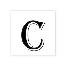 Fancy Letter C Sticker