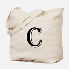 Fancy Letter C Tote Bag