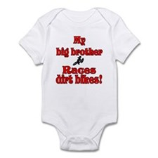 big brother races Honda Infant Bodysuit