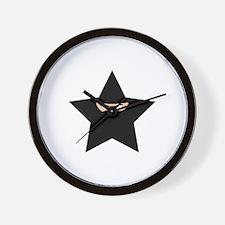 Ninja Star Wall Clock