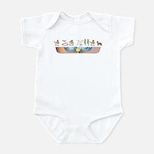 Pyrenean Hieroglyphs Infant Bodysuit