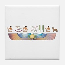 Pyrenean Hieroglyphs Tile Coaster