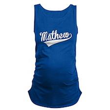 Mathew, Retro, Maternity Tank Top