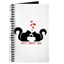 Nuts about you, squirrels in love Journal