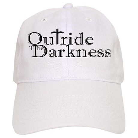 outride the darkness logo Baseball Cap