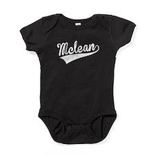 Mclean, Retro, Baby Bodysuit