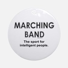Marching Band Ornament (Round)