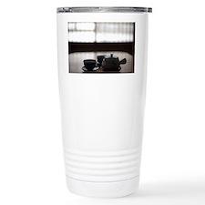 japanese tea pot Travel Coffee Mug